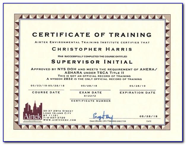 Nj Teacher Supervisor Certificate