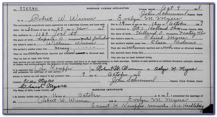Norwalk Birth Certificate Records