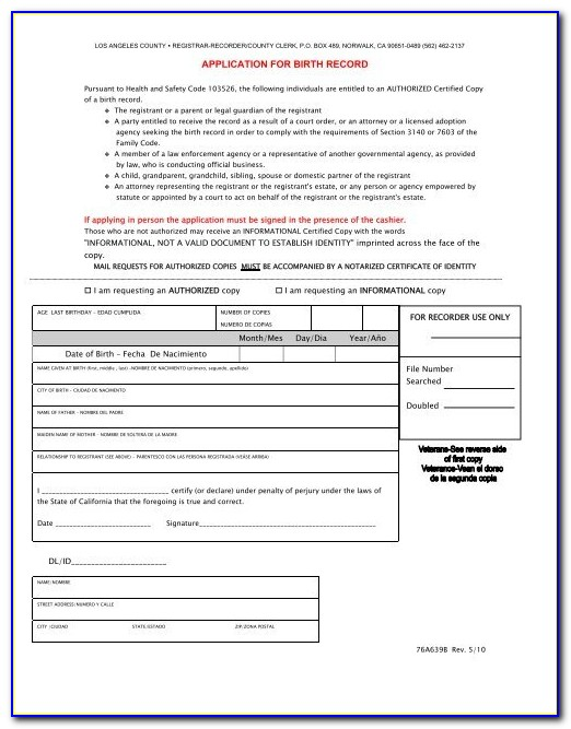 Norwalk Hall Of Records Birth Certificate Address