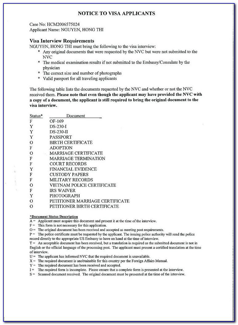 Nvc Police Certificate Canada