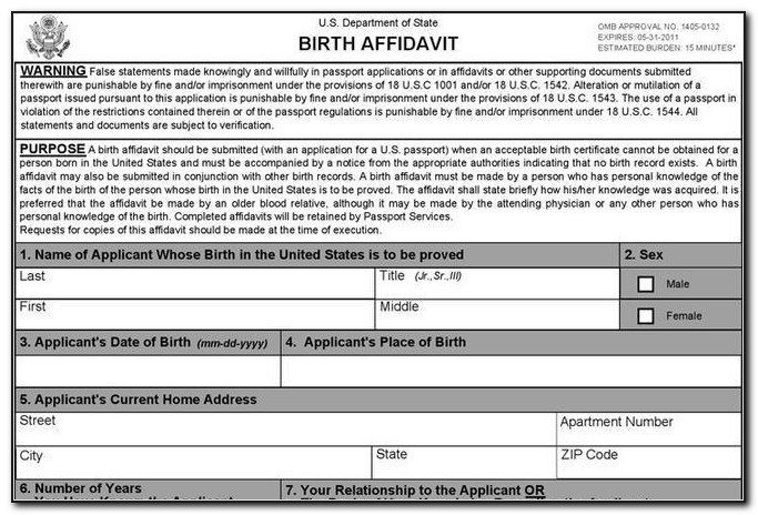 Nyc Birth Certificate Name Correction
