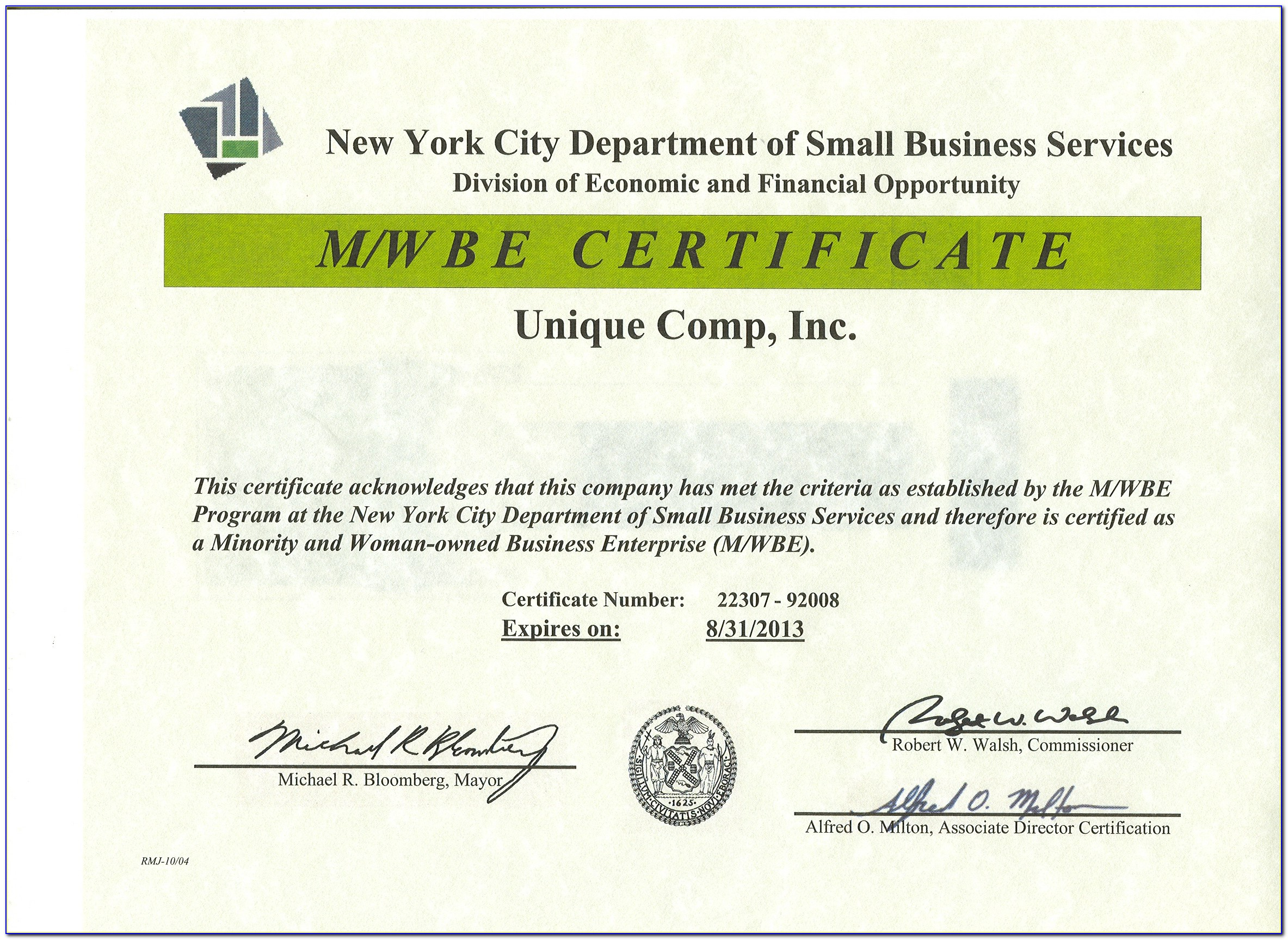 Nys Mwbe Certification Phone Number
