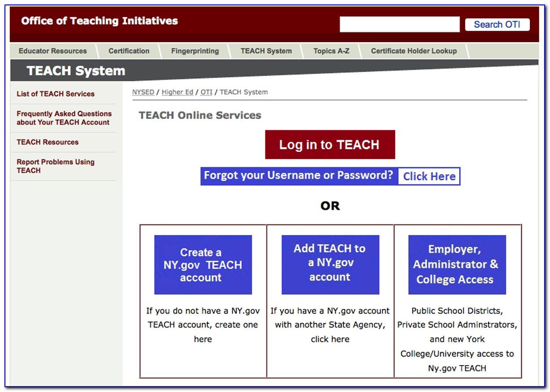 Nysed Teacher Certification Lookup