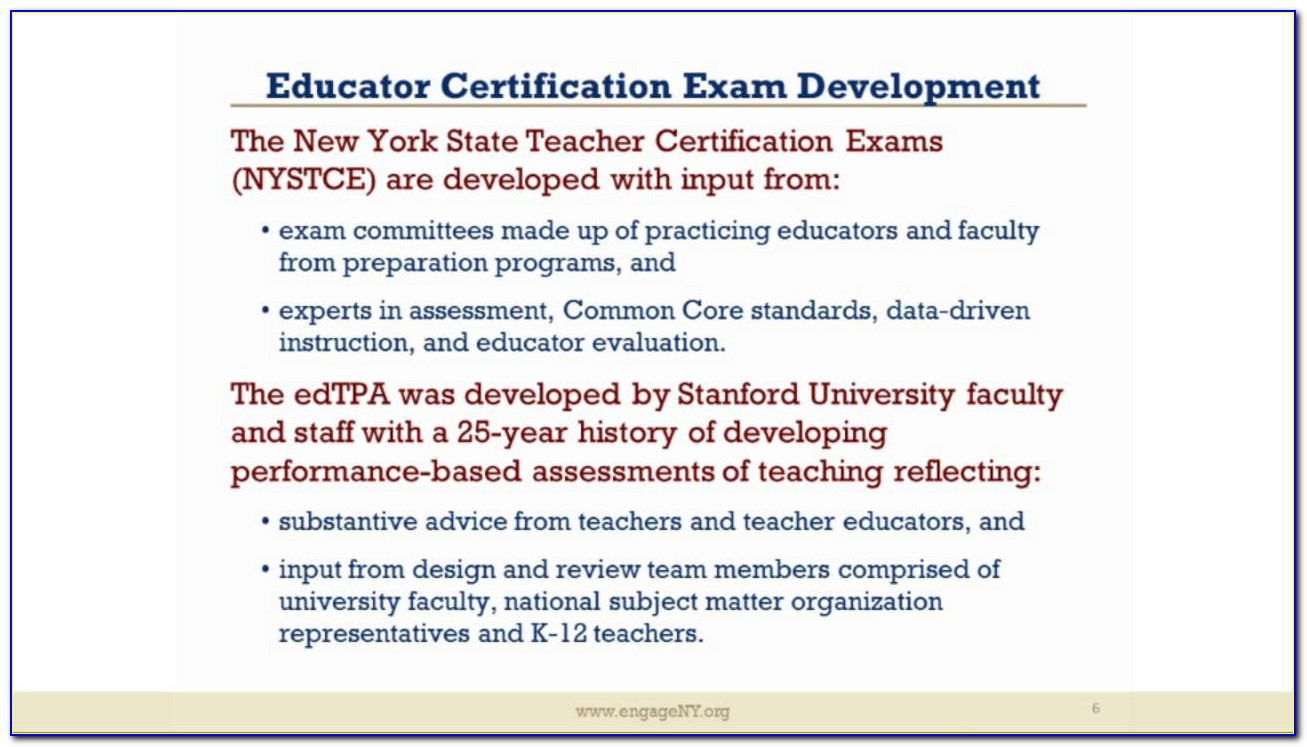 Nysed Teacher Certification Requirements