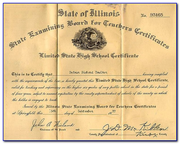 Obtaining Substitute Teaching Certificate Nj