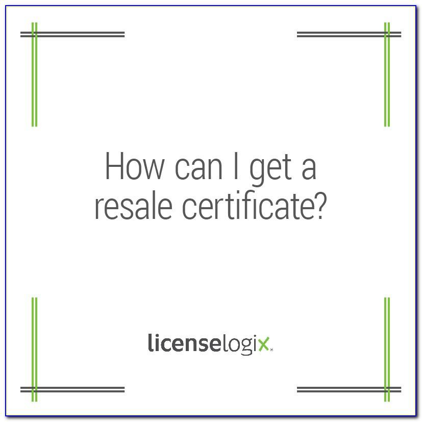 Ohio Resale Certificate Expiration