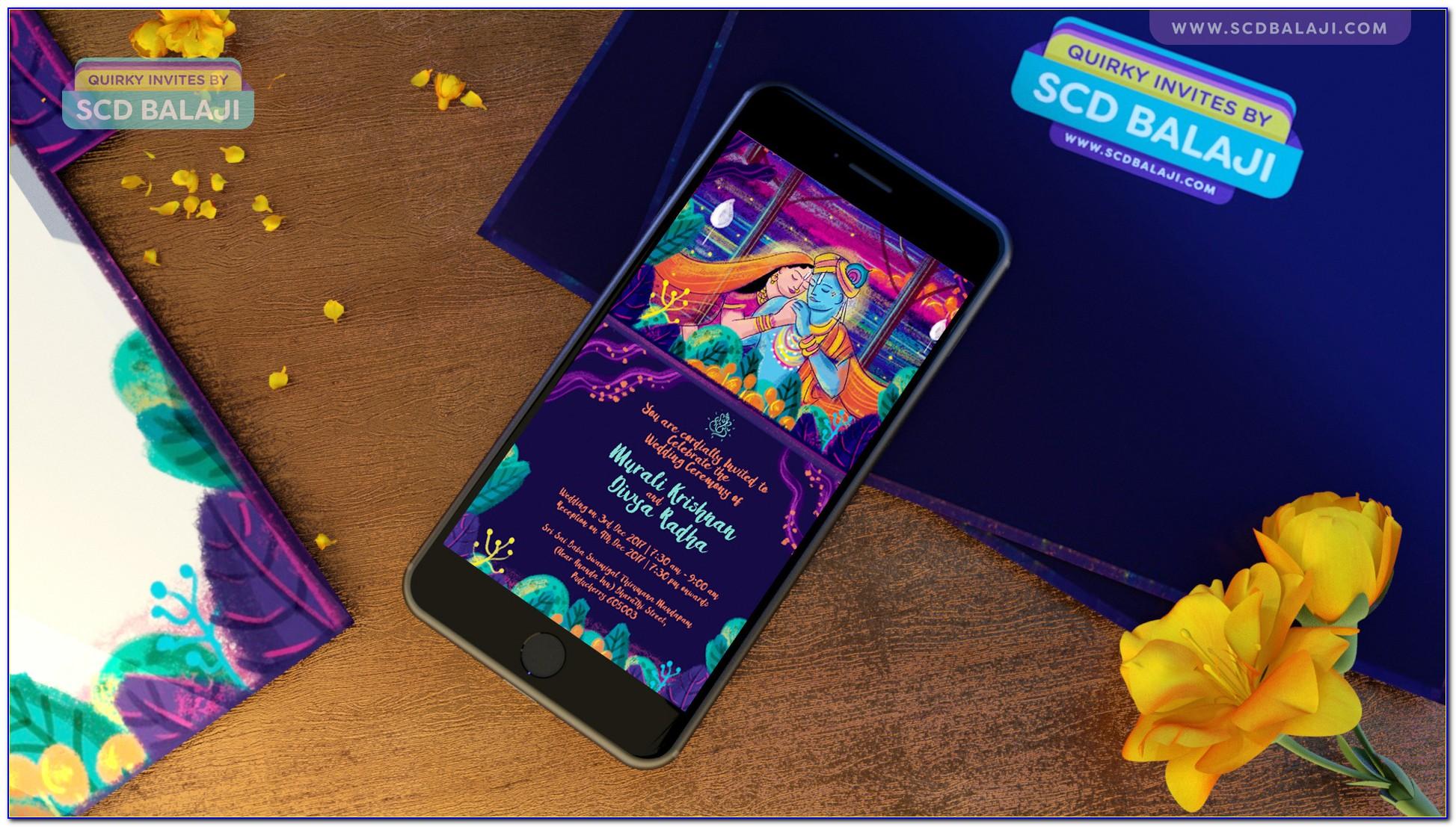 Olympic Wedding Cards Coimbatore