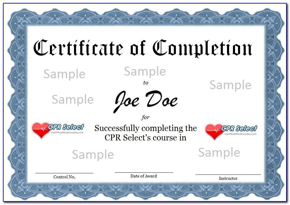 Online Cpr Certification American Heart Association