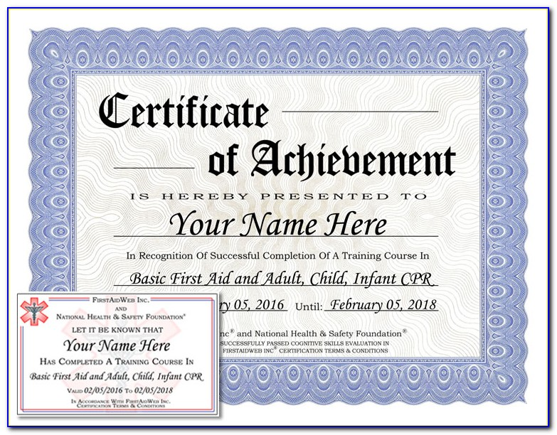 Online Cpr Classes Aha