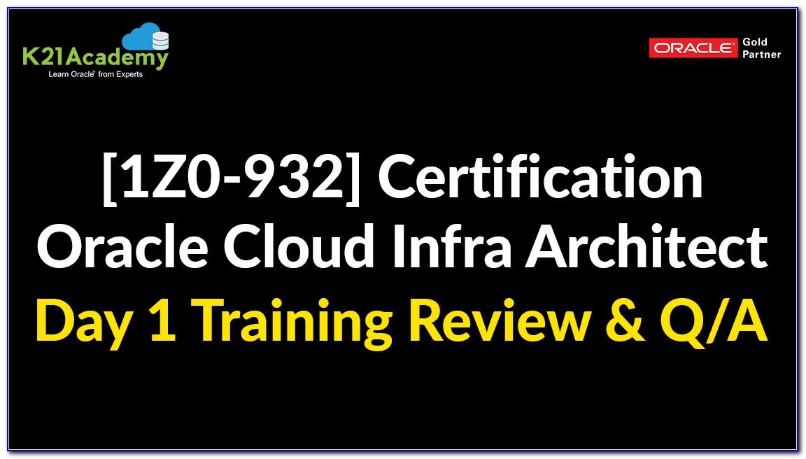 Oracle Cloud Certification Dumps