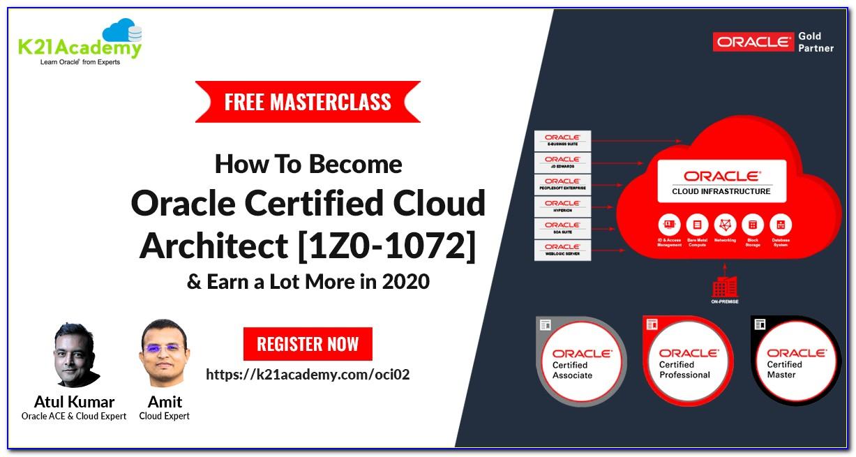 Oracle Cloud Certifications