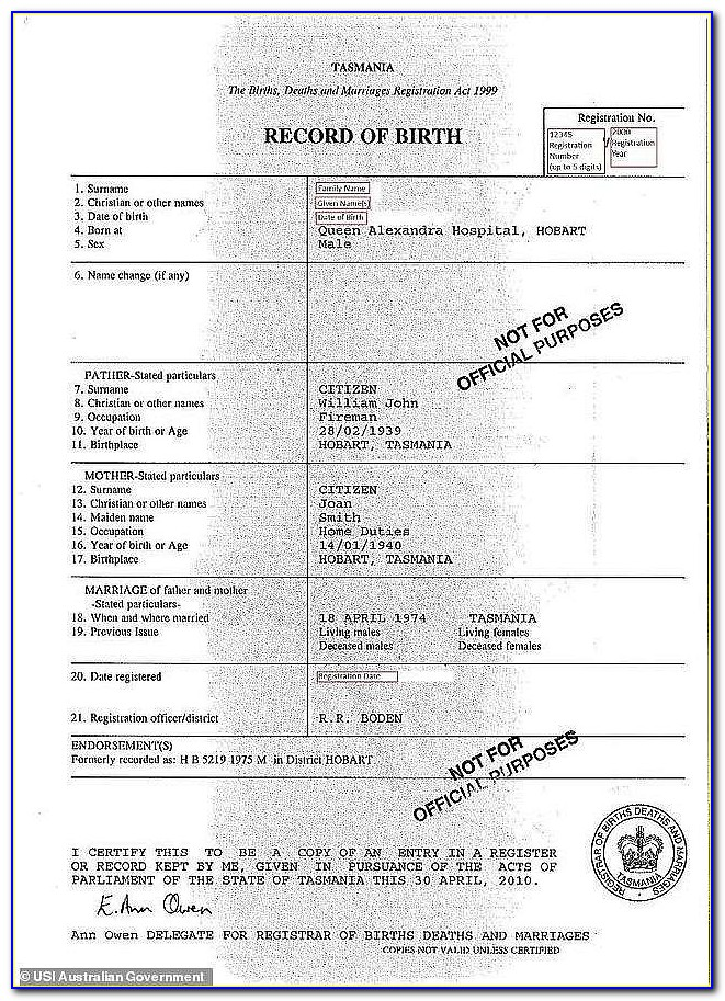 Order Copy Of Birth Certificate Mississippi