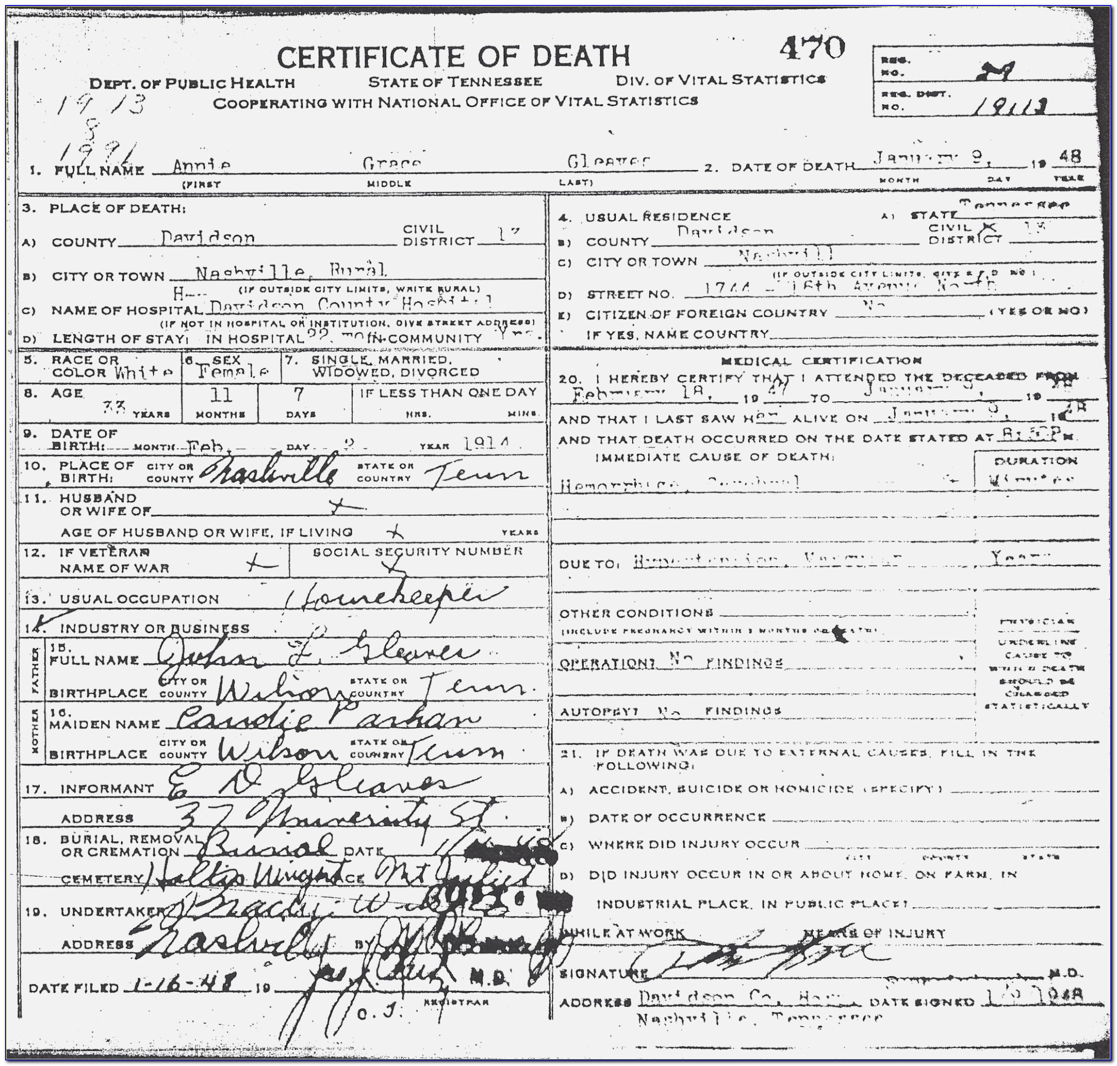 Oregon Birth Certificate Replacement Online