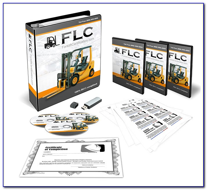 Osha Forklift Certification Card Requirements