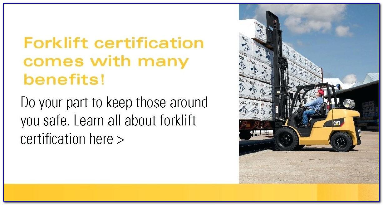 Osha Forklift Certification Houston Tx