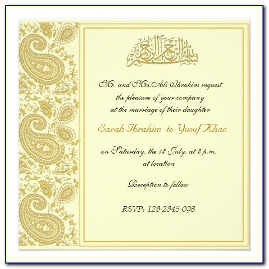 Pakistani Wedding Card Text In Punjabi