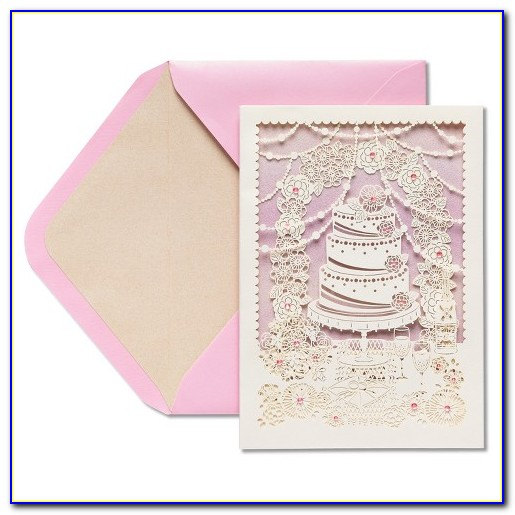 Papyrus Wedding Invitation Cards