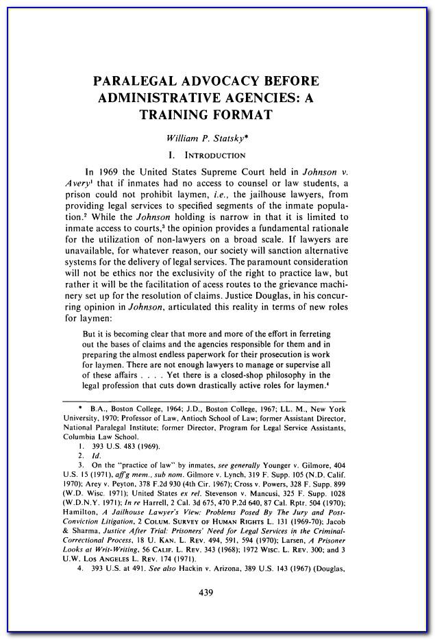 Paralegal Certificate Nyc Bmcc