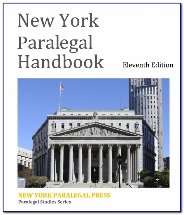 Paralegal Certificate Nyc Cost