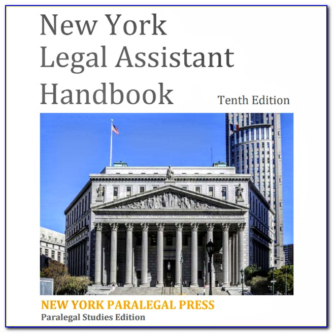 Paralegal Certificate Nyc Online