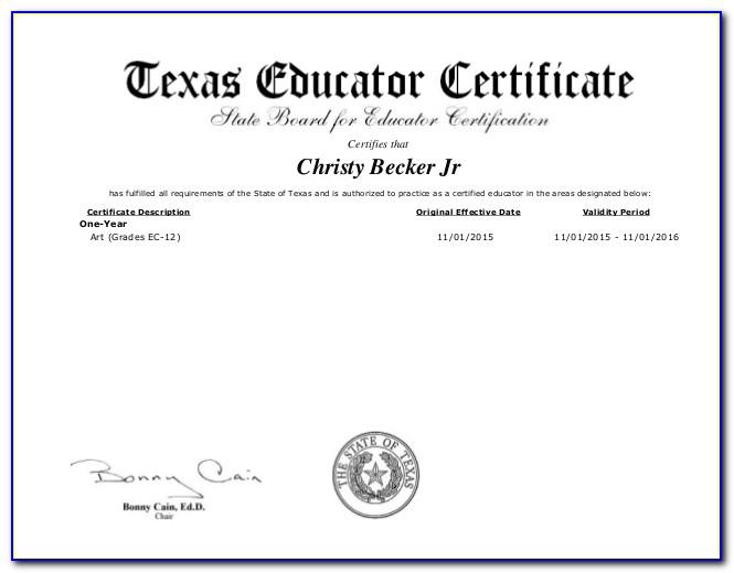 Paraprofessional License Texas