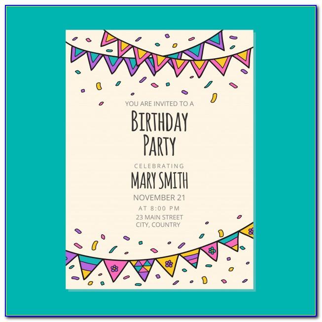 Peppa Pig Birthday Invitation Card Online