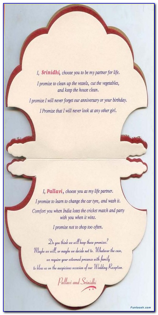 Personal Wedding Card Matter In Kannada