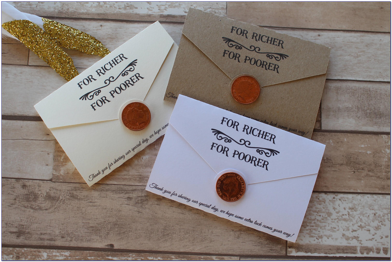 Personalised Wedding Scratch Card Holders