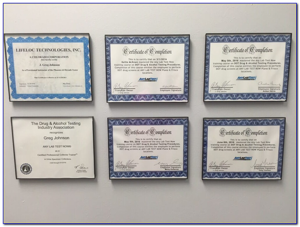 Phlebotomist Certification Texas