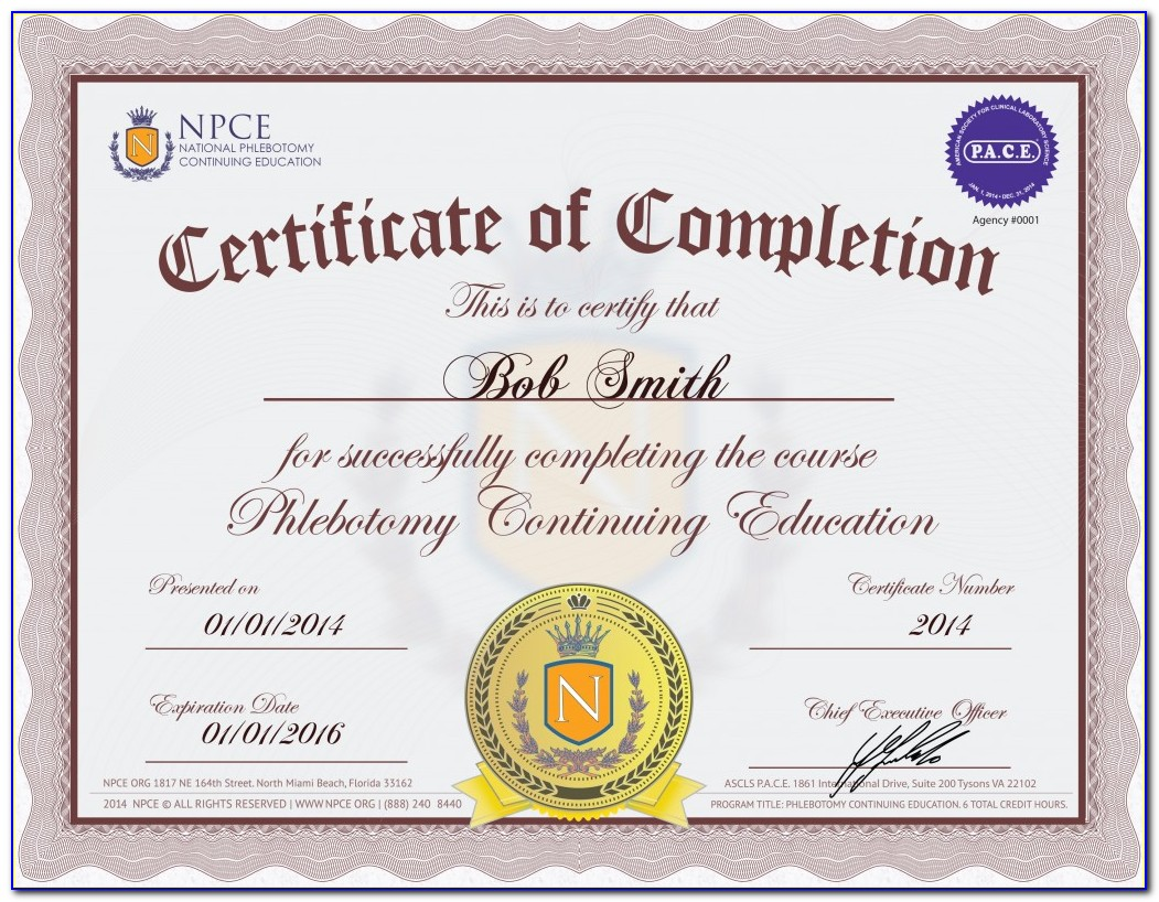 Phlebotomy Certification California