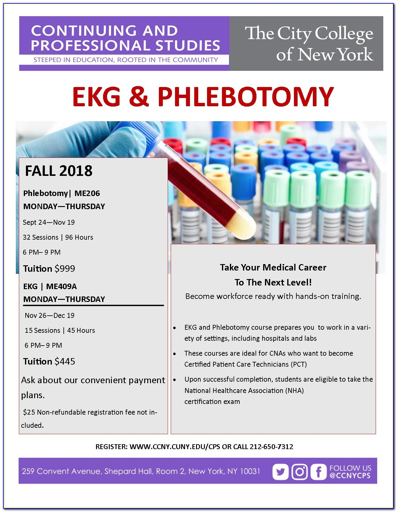 Phlebotomy Certification Cost Nj