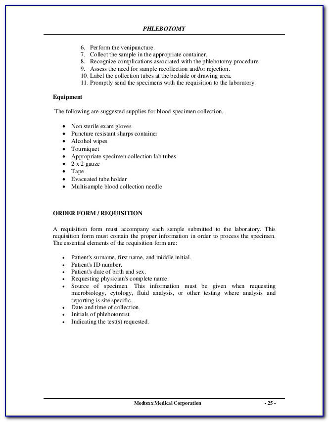 Phlebotomy Certification Houston Texas