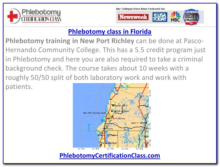 Phlebotomy Certification Jacksonville Florida