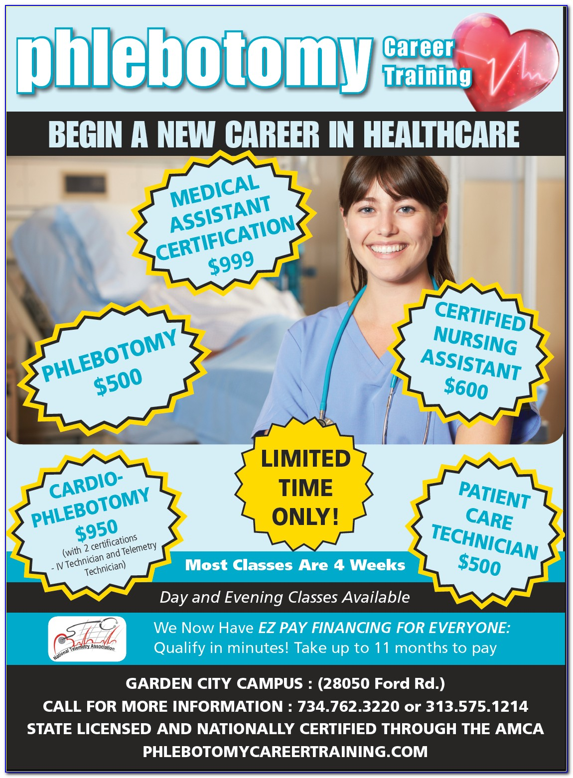 Phlebotomy Certification Nca
