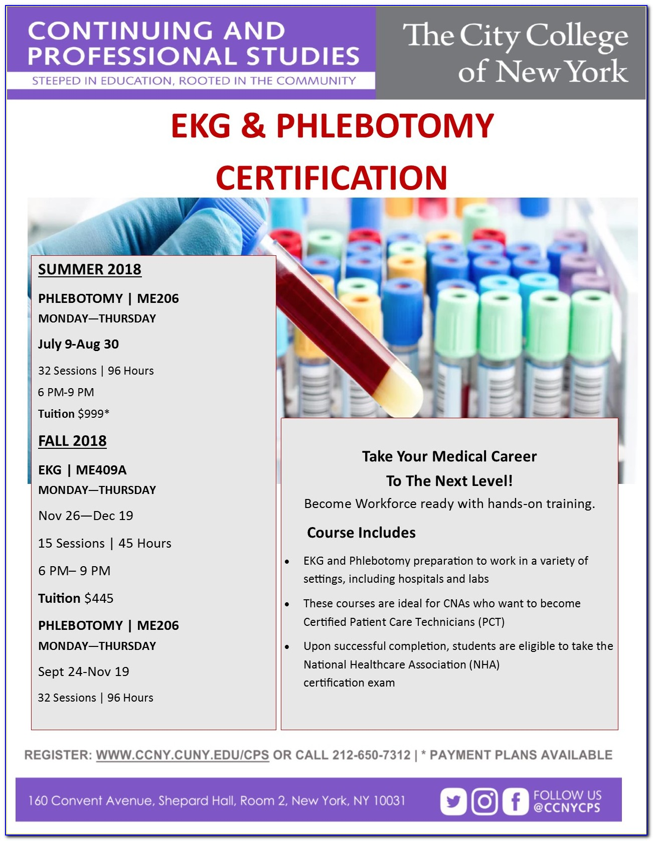 Phlebotomy Certification Nyc Free
