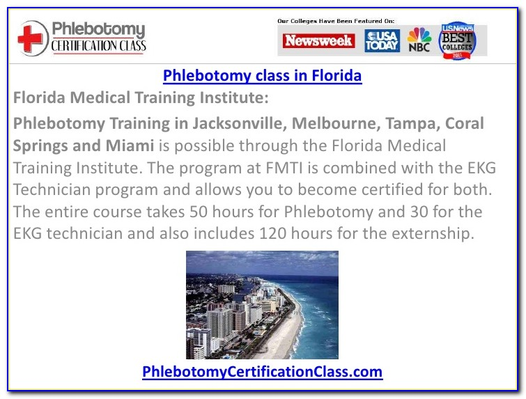 Phlebotomy Certification South Florida