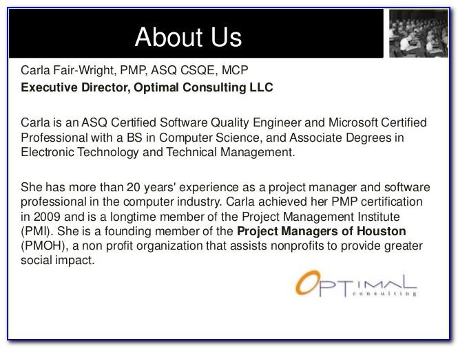 Pmp Certification Training Houston