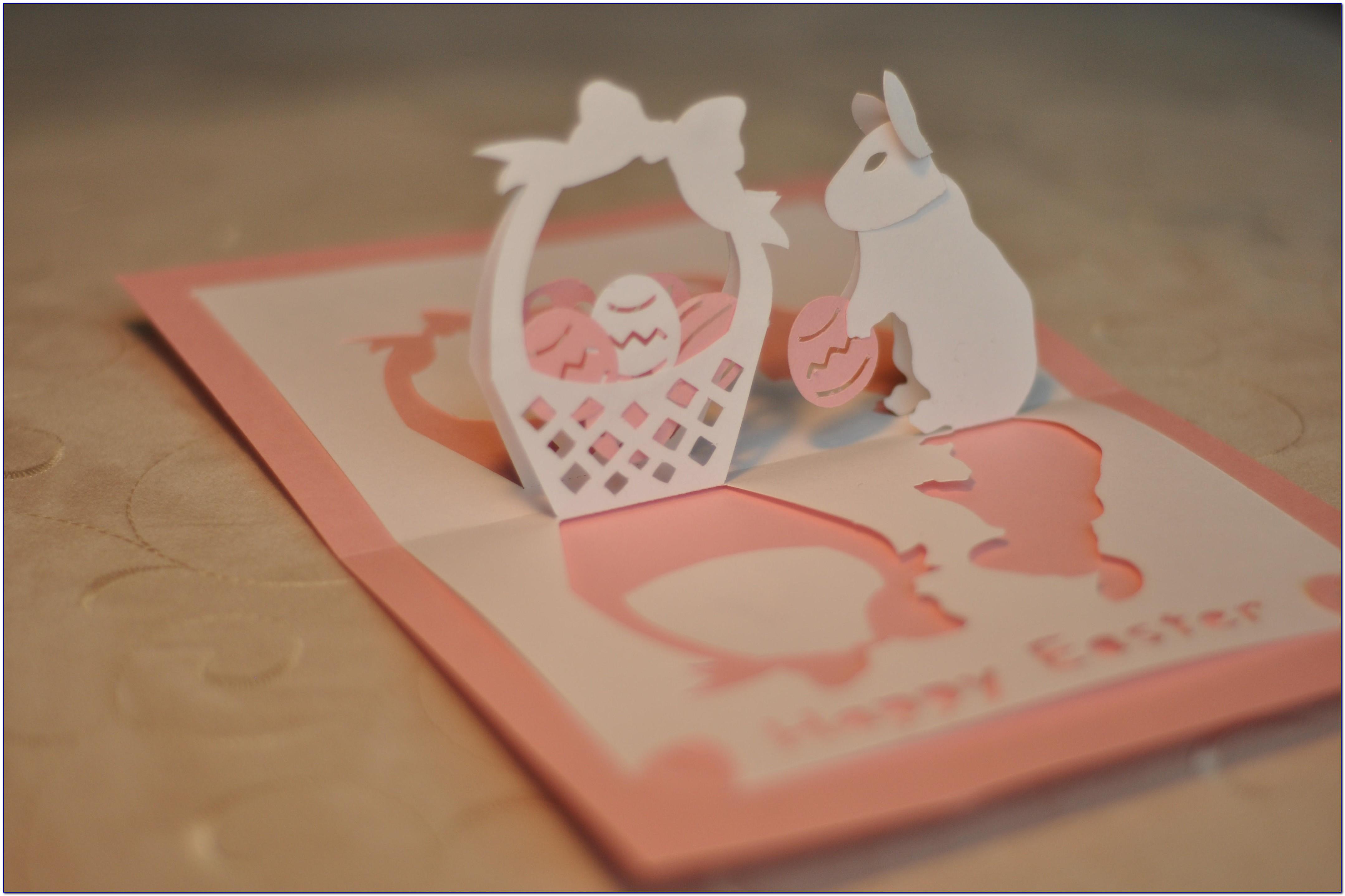 Pop Up Card Template Pdf