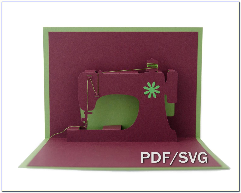 Pop Up House Card Template Pdf