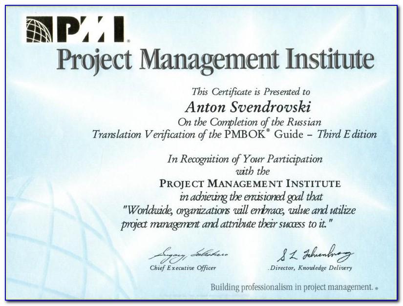 Project Management Certification Houston Tx