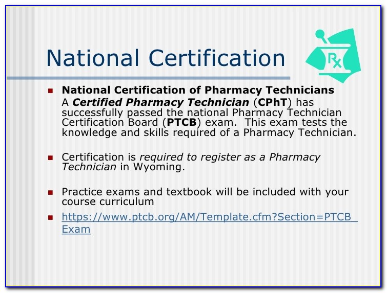Ptcb National Certification Education
