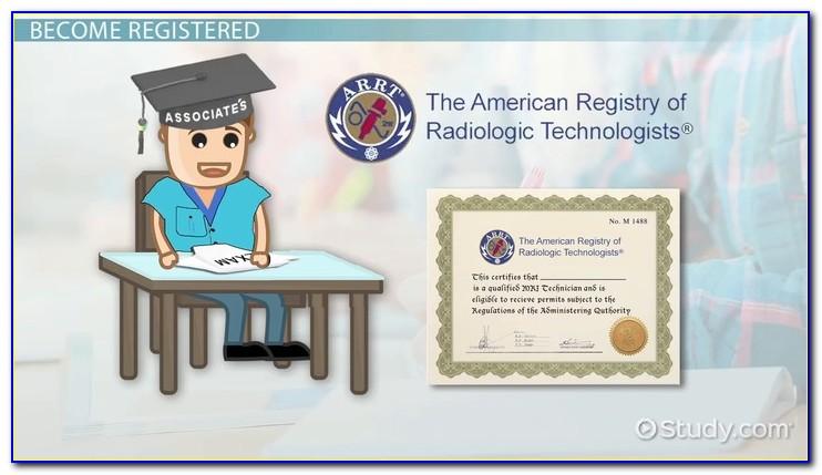 Radiologic Technologist Certification Near Me