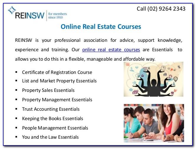 Real Estate License Online