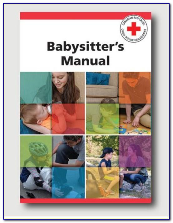 Red Cross Babysitter Certified