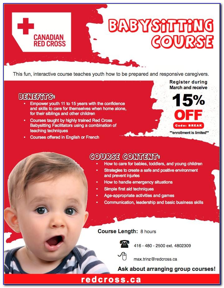 Red Cross Babysitting Certification Near Me