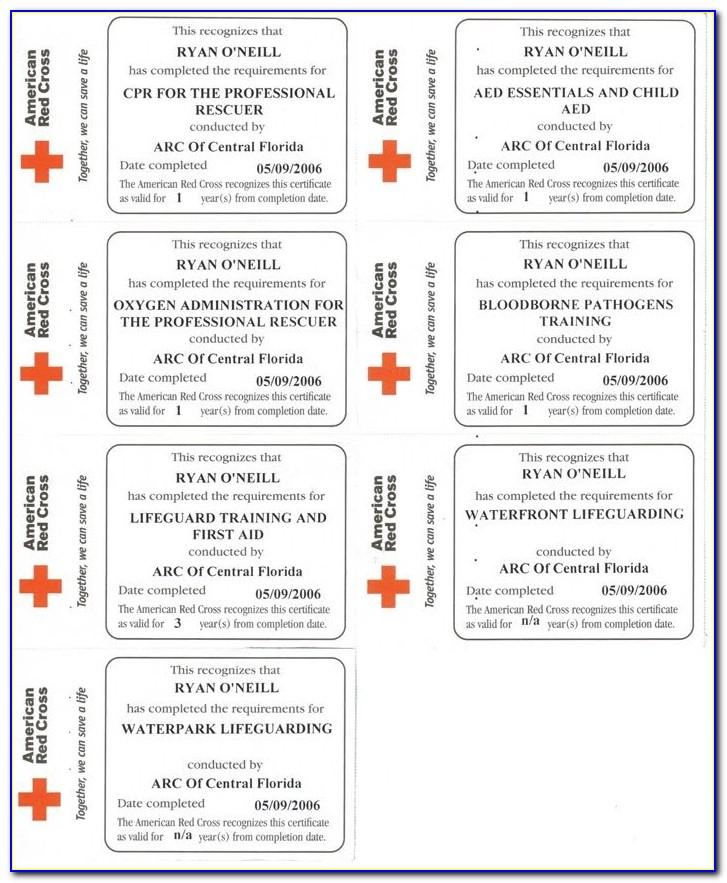 Red Cross Lifeguard Certification Test 2019