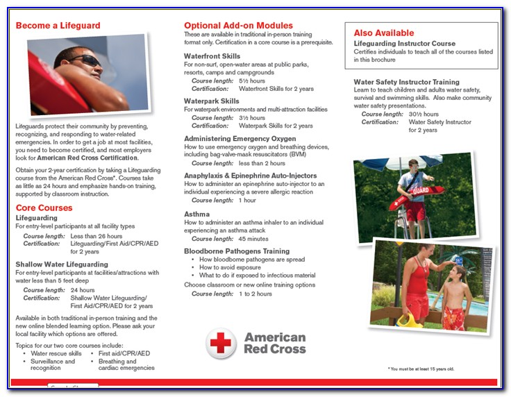 Red Cross Lifeguard Certification Test Answers