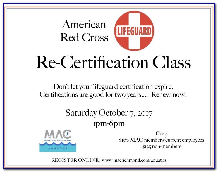 Red Cross Lifeguard Certification Test Quizlet