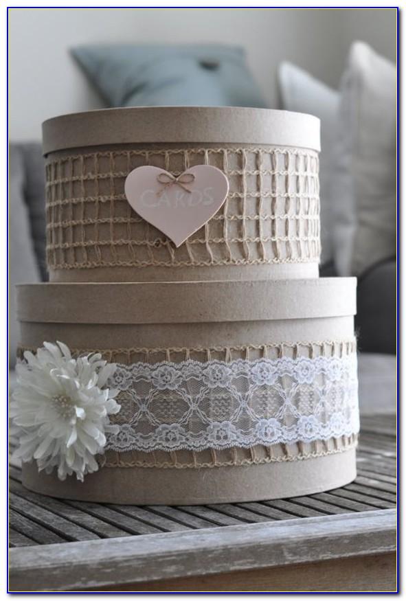 Rose Gold Card Holder Wedding