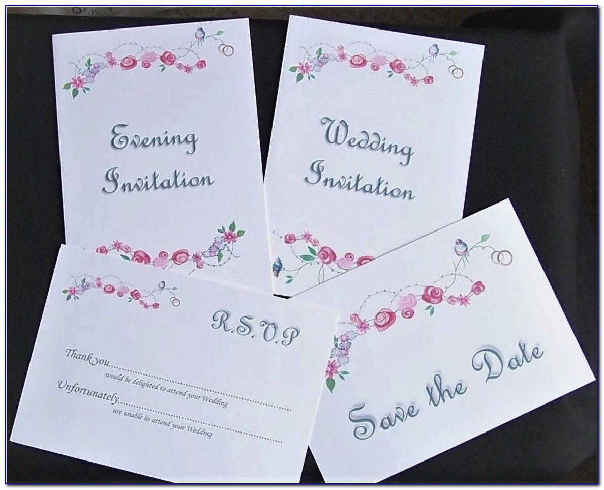 Rsvp Cards For Wedding Etiquette
